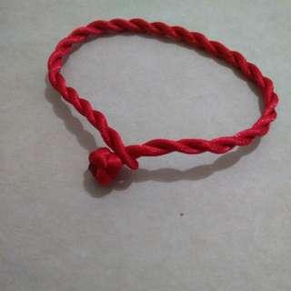 Infinite knot luck booster bracelet