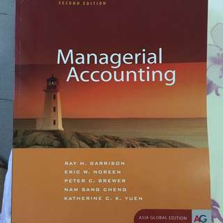 Managerial Accounting SMU