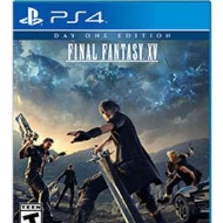 FINAL FANTASY XV - PS4 NEW