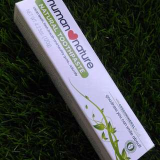 Human♥Nature Natural Toothpaste