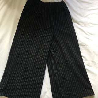 Amazing striped long pants. Worn once, bought for $60 from a boutique in Shanghai