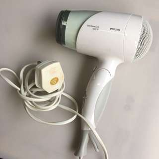 Philips SalonShine Care Hair dryer 1600w without box and detachable parts