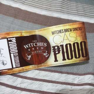 The Witches Brew Diners Manila GC