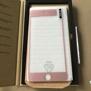 IPhone 6/6S Plus Rose Gold Tempered Glass Screen Protector