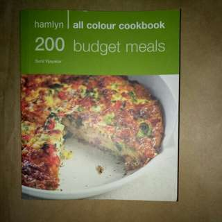 200 Budget Meals - all color cookbook by Sunil Vijayakar,