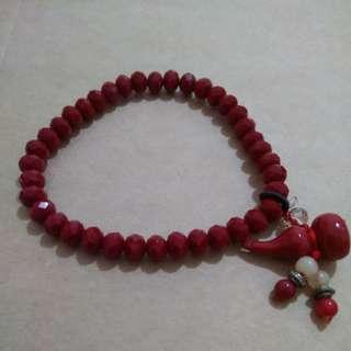 bun beads luck boosting bracelet