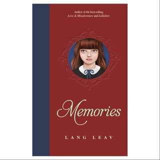 Memories by Lang Leav (Hardback)