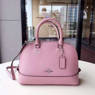 Coach Sierra Satchel Crossgain Leather