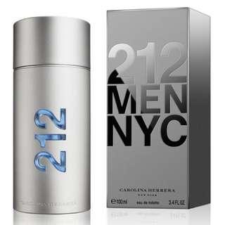 212 MEN NYC Carolina Herrera 100ml