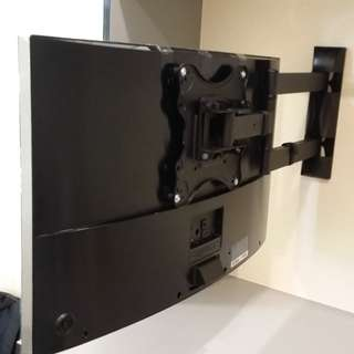TV Bracket Mount on Concrete Wall