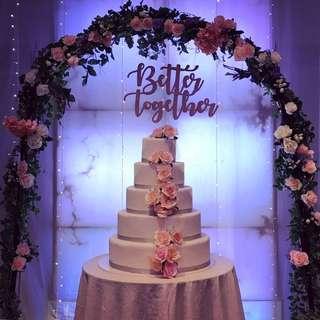 Wedding Floral Arch / Stage Arch