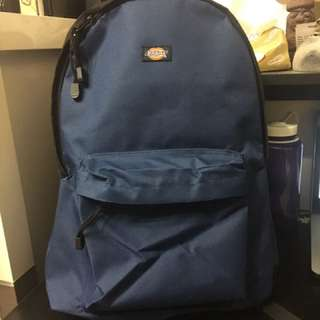 Dickies Blue Backpack and Wallet