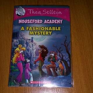Thea Stilton A fashionable mystery