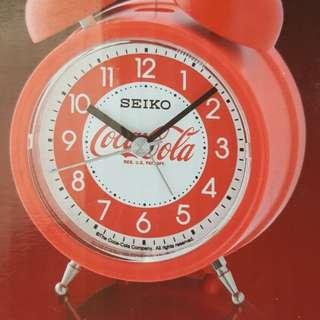 限量版coca cola seiko鐘