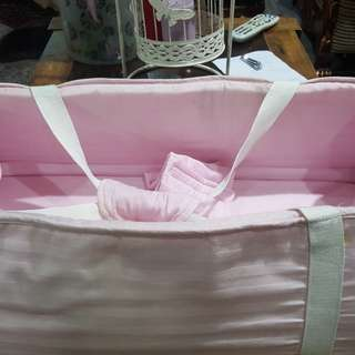 Cotton Baby Bassinet and Diaper Change