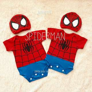 jumper bayi spiderman