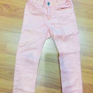 H&M Girl Pink Jeans