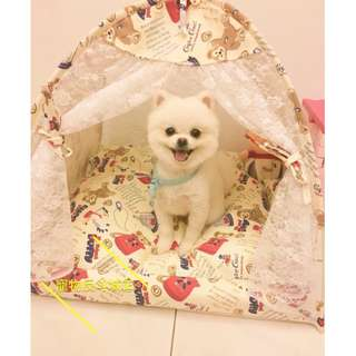 〔達菲款〕L號 寵物帳篷/寵物窩/寵物床