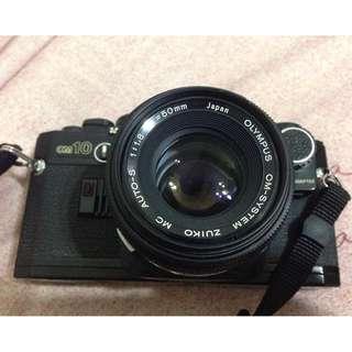 Olympus OM10 +50mm f1.8 底片相機 老相機