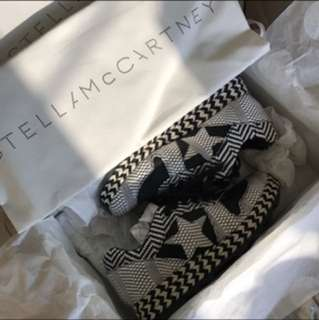 Stella McCartney woven leather platform sneakers shoe EU36