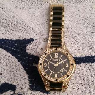 ELGIN样板錶,買家自配錶玉
