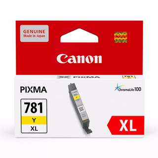 Canon CLI-781XL / CLI 781XL Y 全新原裝墨盒