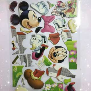 Mickey Mouse & Angry Bird Stickers