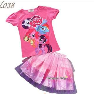 My little Pony Top & Tutu Dress