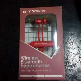 Marsche Bluetooth Earphones with Mic