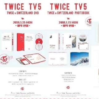 TWICE TV5 - TWICE IN SWITZERLAND DVD