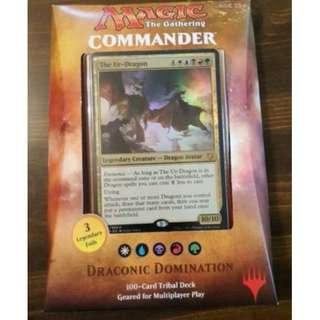 MTG Draconic Domination Commander 2017 - Magic The Gathering