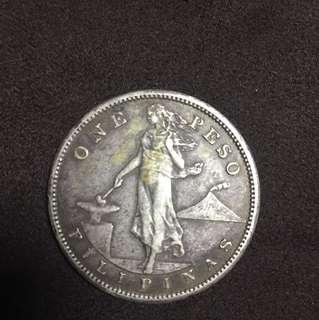 USPI 1907 One Peso