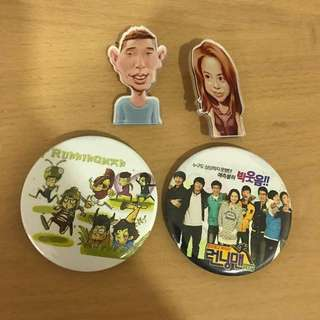 Running Man badges