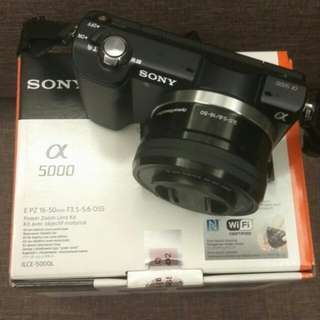 Sony interchangeable lens camera (Wifi & NFC)