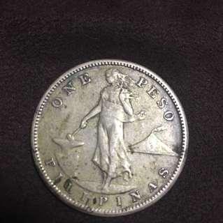 USPI 1908 One Peso