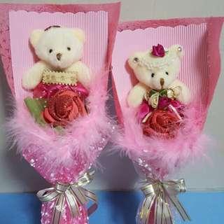 Valentine's Day with Handmade Rose