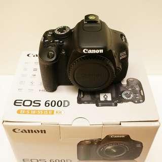 CANON EOS 600D單機身Body