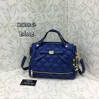 Chanel Bag Blue Color