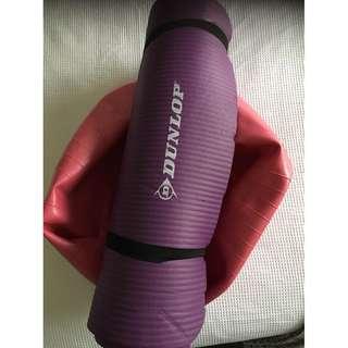 Exercise Ball & Yoga Mat
