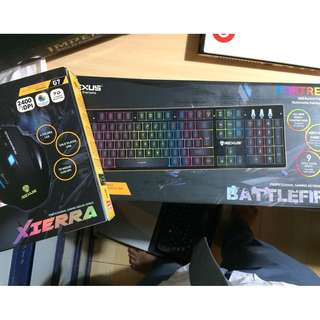 Keyboard Rexus + Gaming Mouse Rexus Xierra