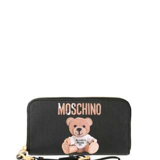 MOSCHINO BEAR WALLET