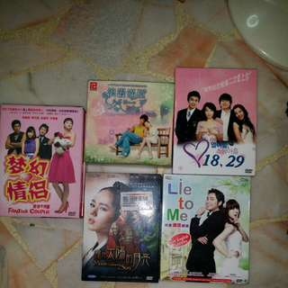Korean Drama vcd and DVD