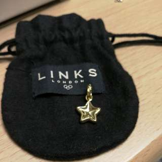 Links of London 18ct start charm