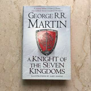 Hardbound - A Knight of Seven Kingdoms By George RR Martin Game of Thrones