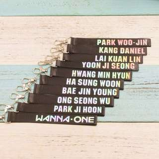 looking for wanna one keychain