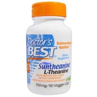 Doctor's Best, Suntheanine L-Theanine, 150 mg, 90 Veggie Caps