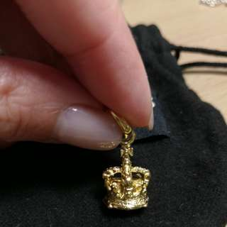 Links of London 18ct皇冠吊咀