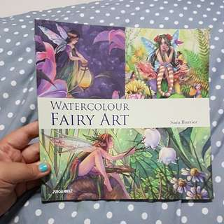 Watercolour fairy art