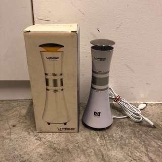 Vase speaker computer white slim