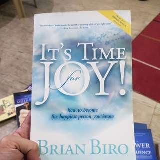 It's Time for Joy - Brian Biro